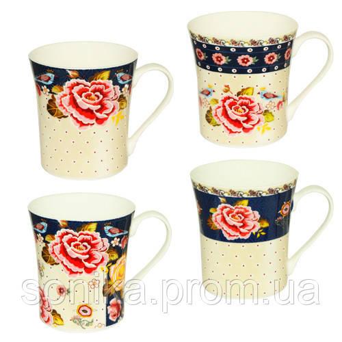 Чашка порцелянова S&T Квіти 300 мл 2195