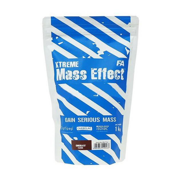 Гейнер для набора массы Fitness Authority Xtreme Mass Effect (1 кг) chocolate