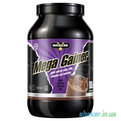 Купити для набору маси Maxler Mega Gainer (4,5 кг) макслер мега vanilla