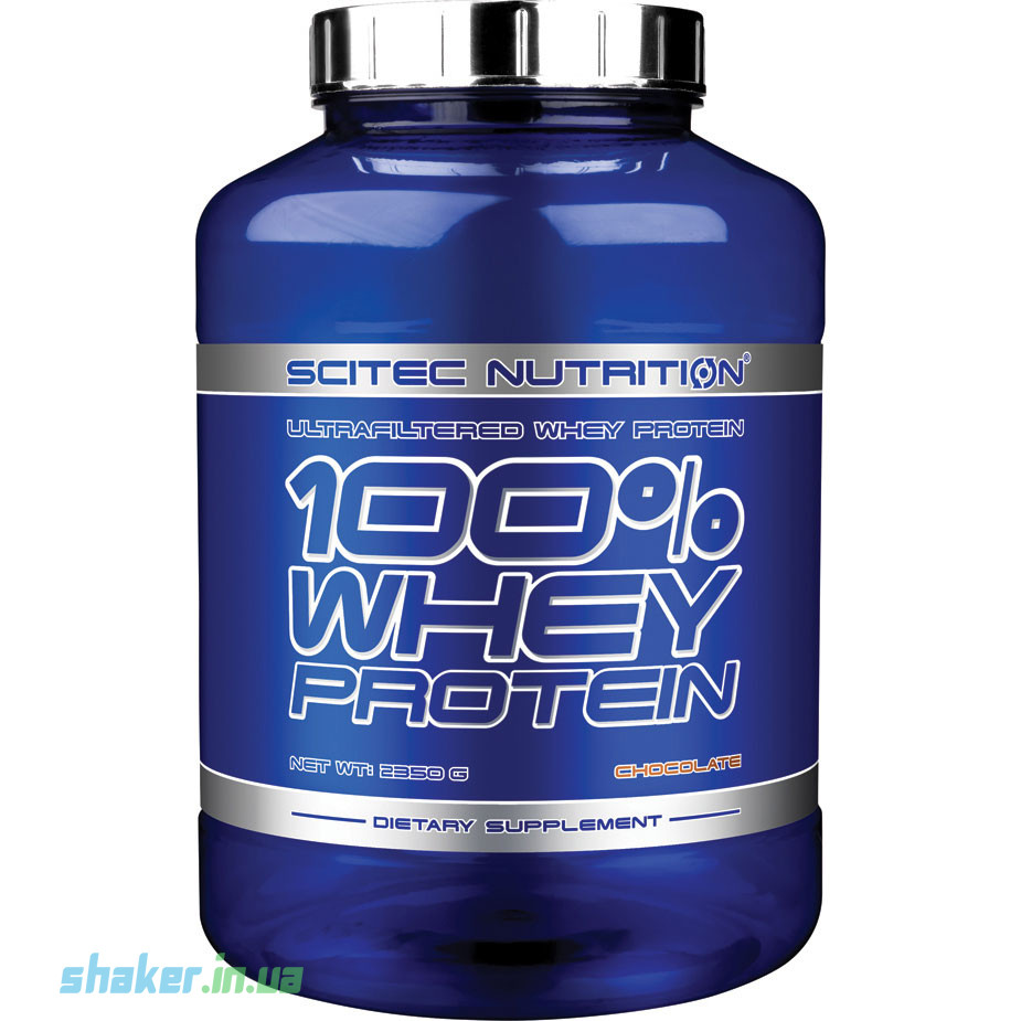 Сывороточный протеин концентрат Scitec Nutrition 100% Whey Protein (2,35 кг) скайтек вей white chocolate