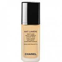 Chanel Крем тональный для лица матирующий для комбинированной, жирной кожи Mat Lumiere Fluid SPF15 40 30ml