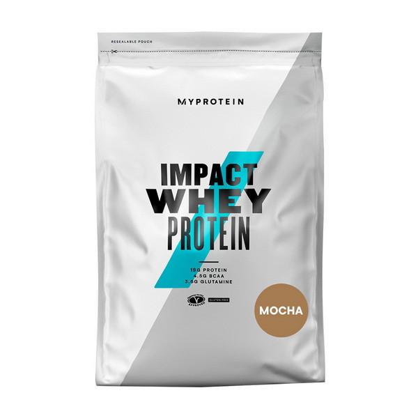 Сывороточный протеин концентрат MyProtein Impact Whey Protein (1 кг) майпротеин импакт вей banana