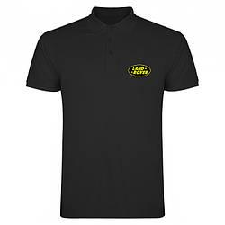 Поло Ленд Ровер (Land Rover) мужское, тенниска Ленд Ровер, мужская футболка Ленд Ровер, Турецкий хлопок, копия