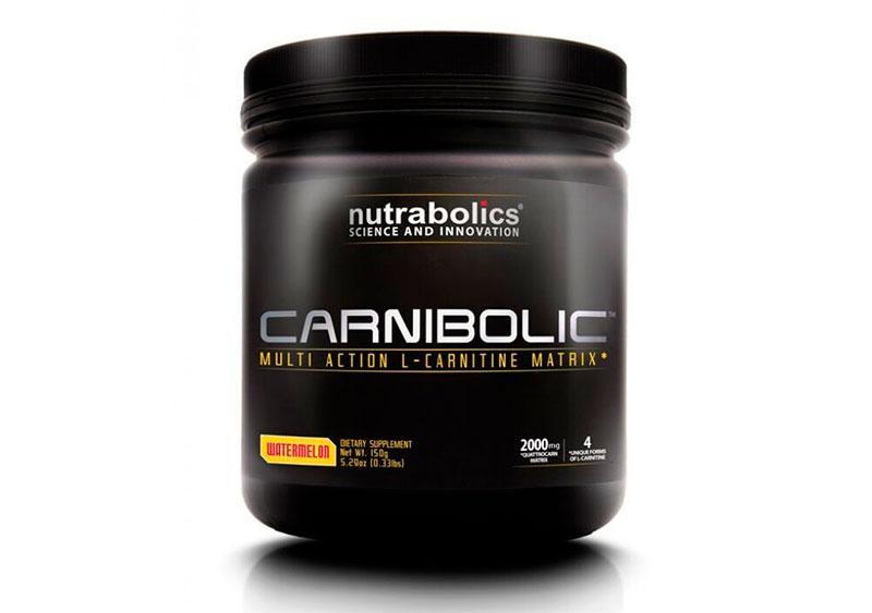 Л-карнитин NutraBolics Carnibolic (150 г) нутраболик orange