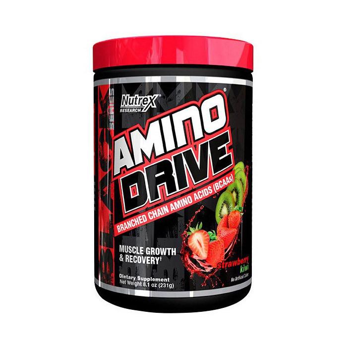 БЦАА Nutrex Amino Drive (261 г) нутрекс драйв strawberry kiwi
