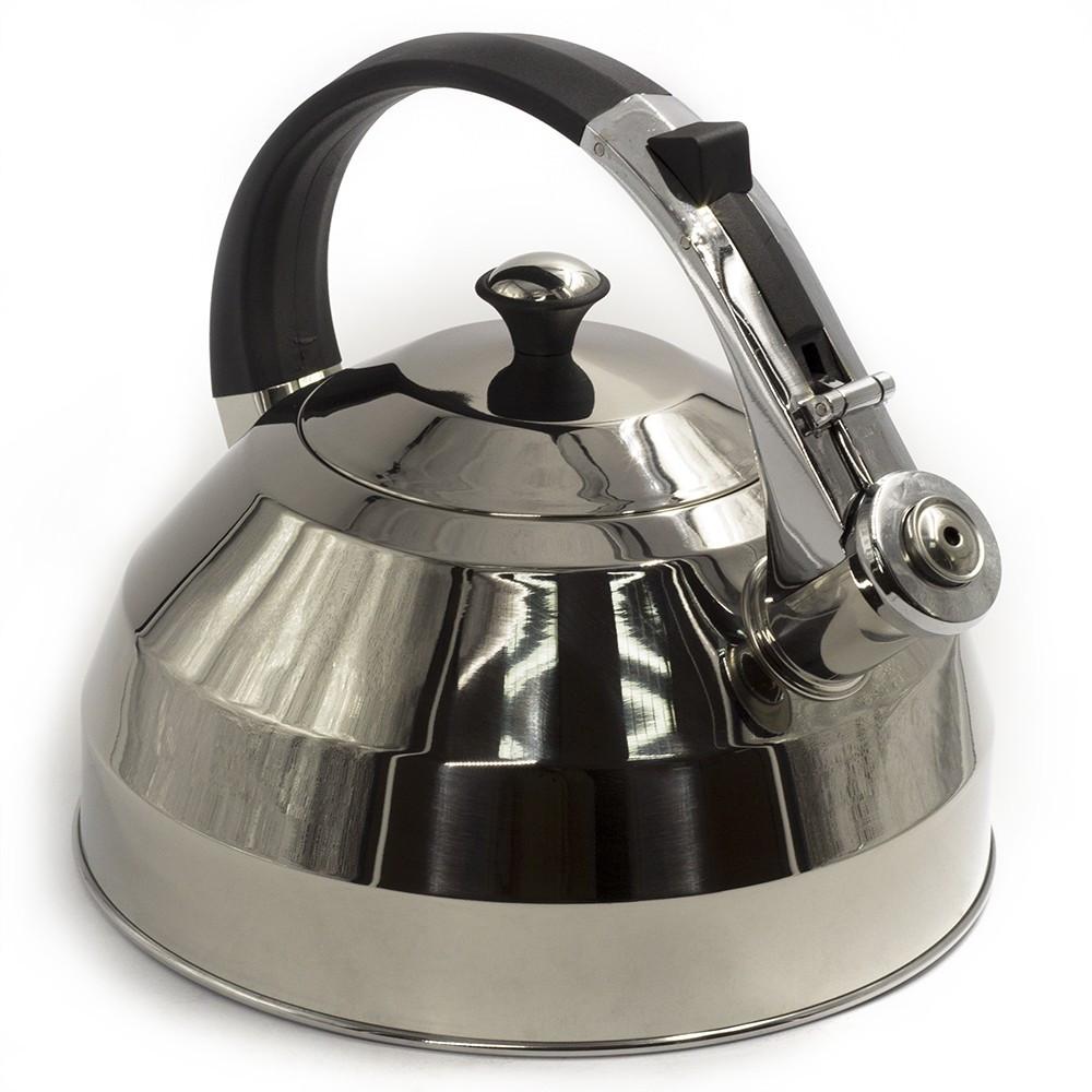 """Чайник металлический """"PETERHOF"""" (со свистком, 3 л, нержавеющая сталь), арт. 15527"""