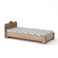 Кровать 100 МДФ Компанит Дуб сонома, КОД: 182341