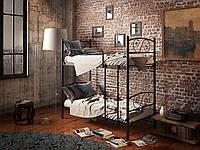 Кровать Tenero Виола двухъярусная 800х2000 Черный 100000105, КОД: 1555709