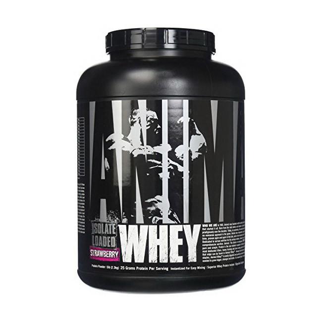 Сывороточный протеин изолят Universal Animal Whey (2.3 кг) юниверсал энимал вей vanilla
