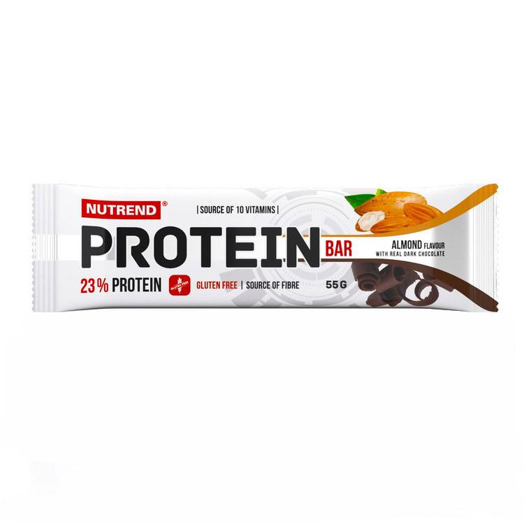 Протеиновый батончик Nutrend Protein Bar 23% (55 г) нутренд chocolate with real dark chocolate