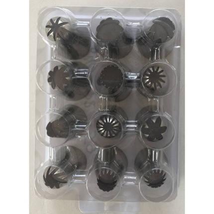 Набор кондитерских насадок (нержавеющая сталь, 12 шт/уп.) арт. 840-2259, фото 2