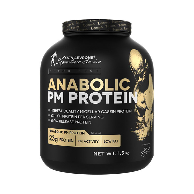Сывороточный протеин концентрат Kevin Levrone Anabolic PM Protein (1.5 кг) кевин леврон анаболик  strawberry