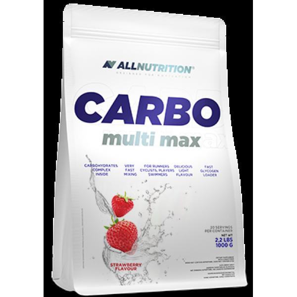 Энергетик карбо углеводы All Nutrition Carbo Multi max (1 кг) алл нутришн Natural