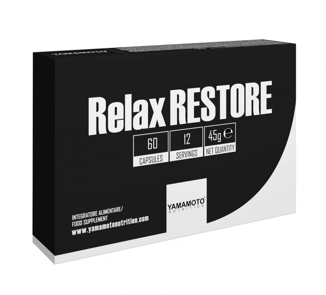Витамины для сна Yamamoto nutrition Relax RESTORE (60 капс) ямамото