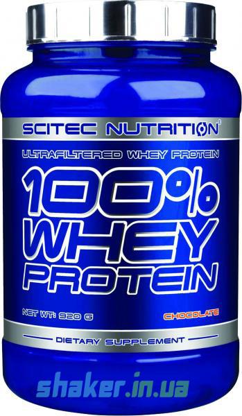 Сывороточный протеин концентрат Scitec Nutrition 100% Whey Protein (920 г) скайтек вей rum melon