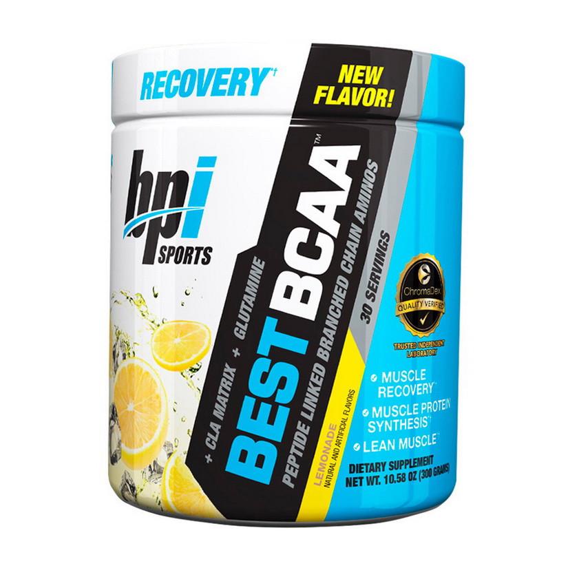 БЦАА BPI sports Best BCAA  (300 г) бпи спортс lemonade