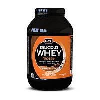 Сывороточный протеин концентрат QNT Delicious Whey Protein (908 г) делишс вей belgian chocolate
