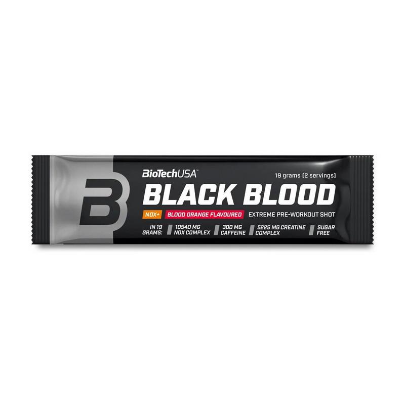 Предтреник BioTech Black Blood Nox+ (19 g) биотеч блек блад blueberry-lime