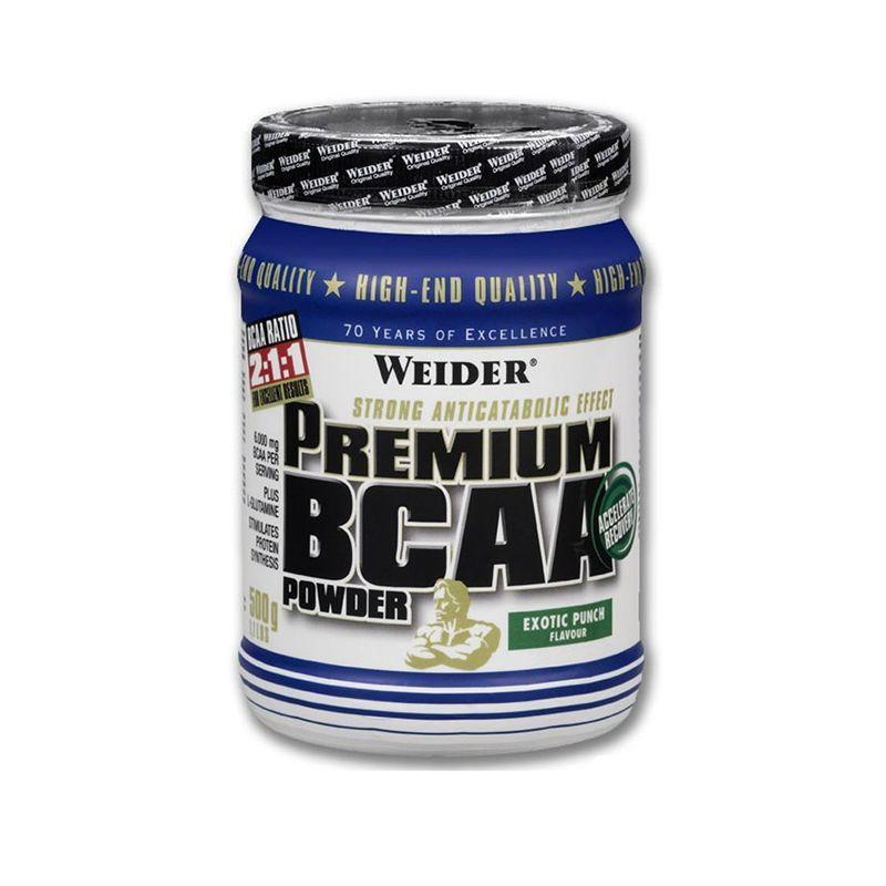 БЦАА Weider Premium BCAA powder (500 г) вейдер exotic punch