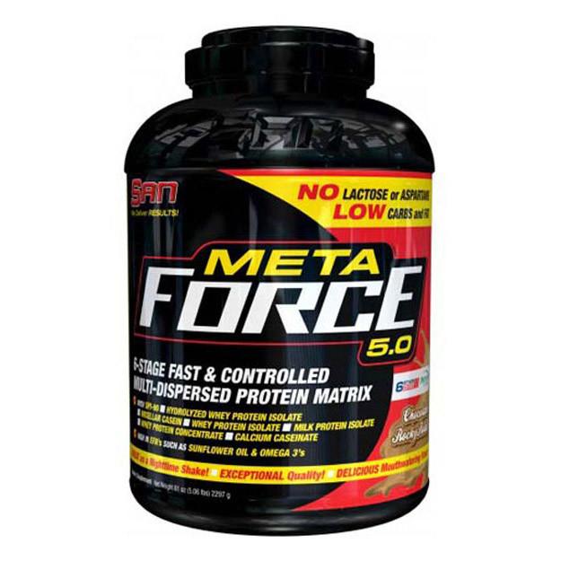 Комплексный протеин SAN Meta Force 5.0 (2,22 кг) сан метафорс шоколад