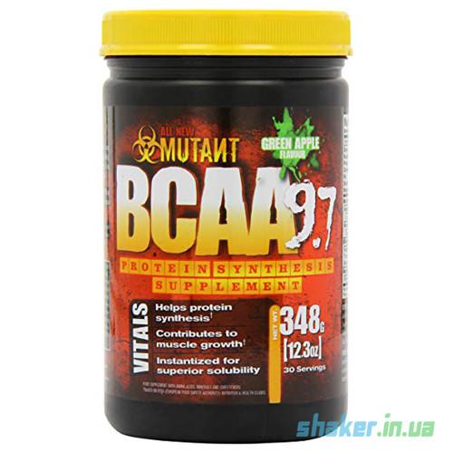 БЦАА Mutant BCAA 9.7 (348 г) мутант fruit punch