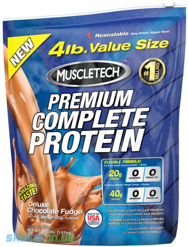 Комплексный протеин MuscleTech Premium Complete Protein (1,8 кг) масл тек ваниль