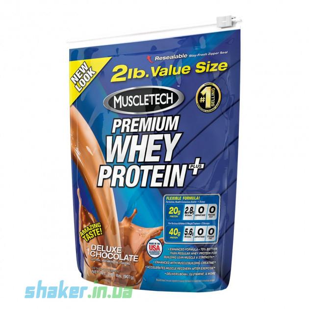 Сывороточный протеин концентрат MuscleTech Premium Whey Protein Plus (907 г) мускултеч премиум вей deluxe