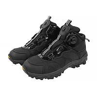 Ботинки тактические с автоматической пряжкой демисезонные ESDY 661 Black 41 5136-18618, КОД: 2451707