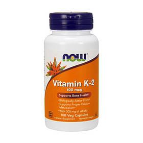 Витамин К Now Foods Vitamin K-2 (100 капс) нау фудс