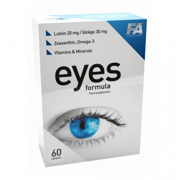 Витамины для глаз Fitness Authority Eyes formula (60 таб)