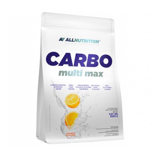 Энергетик карбо углеводы All Nutrition Carbo Multi max (3 кг) алл нутришн Lemon