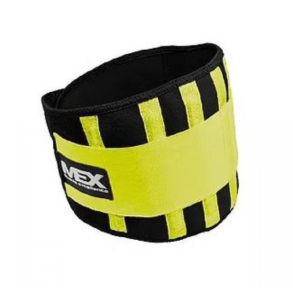 Страховочный пояс атлетический MEX Nutrition FIT-COR - S lime fitness corset (women)