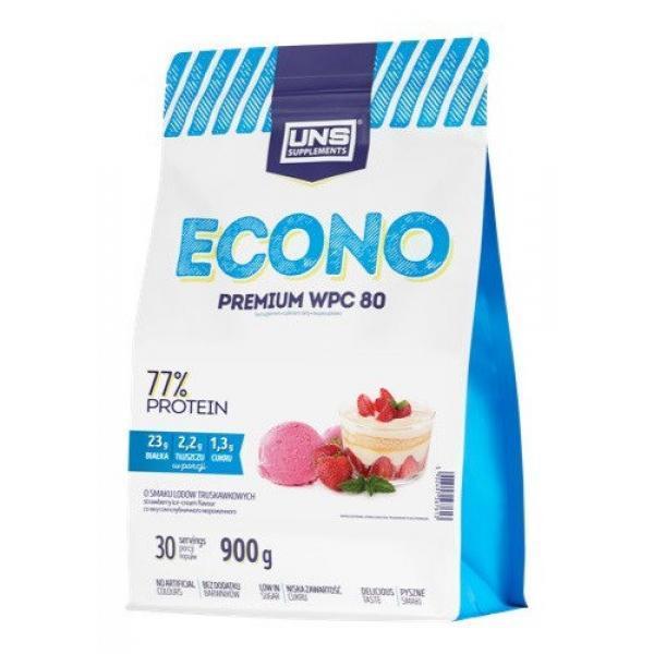 Сывороточный протеин концентрат UNS Econo Premium (900 г) юнс Cake with Cream