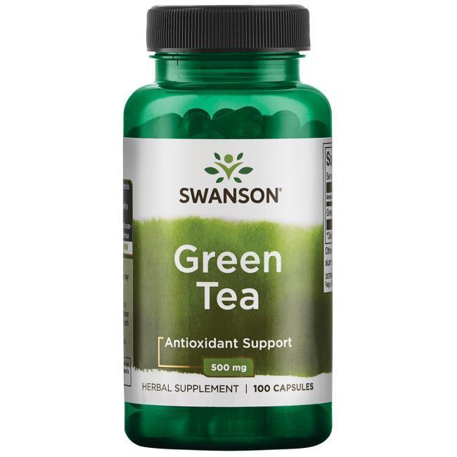 Экстракт зеленого чая Swanson Green Tea 500 mg - 100 caps свансон