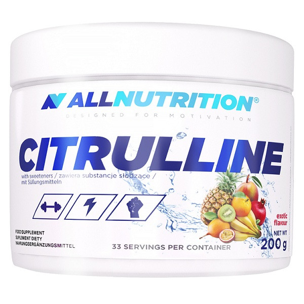 Л-Цитруллин AllNutrition Citrulline (200 г) алл нутришн Apple