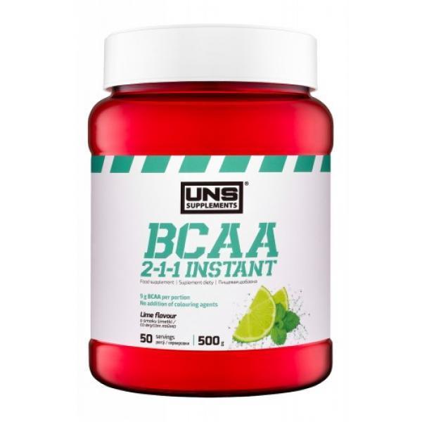 БЦАА UNS BCAA 2-1-1 Instant (500 г) юсн Apple