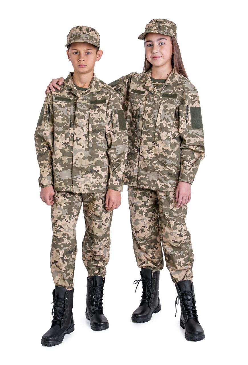 Военная форма для детей кадетов ARMY KIDS Киборг камуфляж ММ14 оригинал взрослой формы Украины