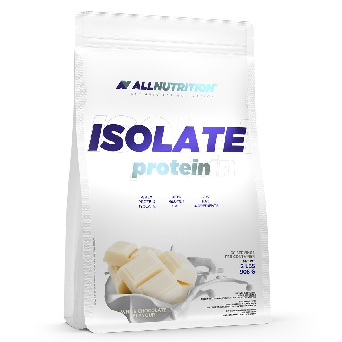Сывороточный протеин изолят AllNutrition Isolate Protein (908 г) алл нутришн Pinepple Raspberry