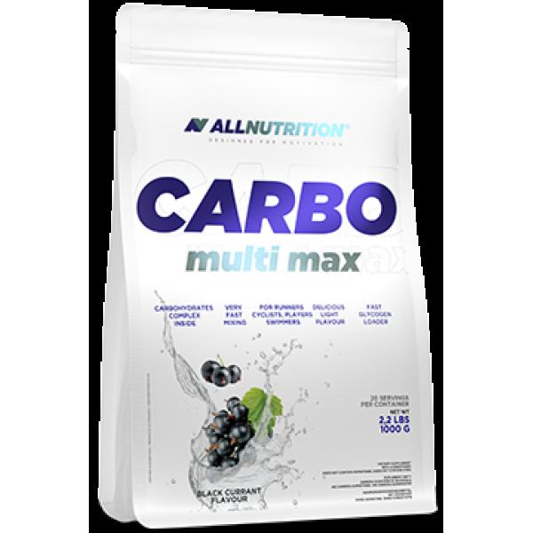 Энергетик карбо углеводы All Nutrition Carbo Multi max (1 кг) алл нутришн Blackcurant