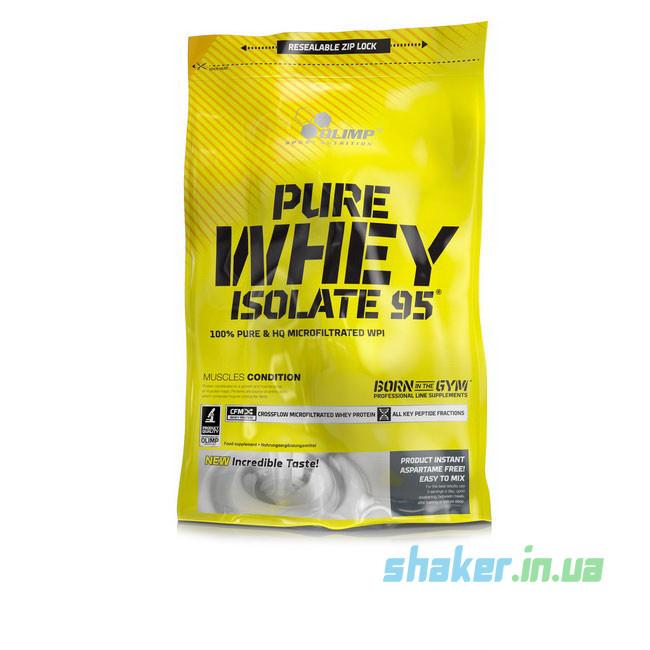Сывороточный протеин изолят Olimp Pure Whey Isolate 95 (600 г) олимп пур вей cherry yoghurt
