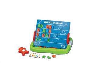 Доска магнитная азбука 0708 95 деталей Разноцветный, КОД: 1332153