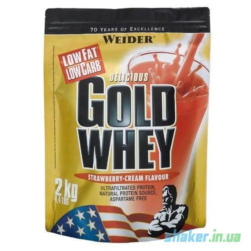 Сывороточный протеин концентрат Weider Gold Whey (2 кг) вейдер голд вей  vanilla fresh