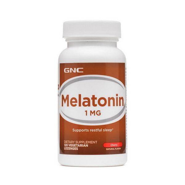 Мелатонин GNC Melatonin 1 мг (120 леденцов) гнс