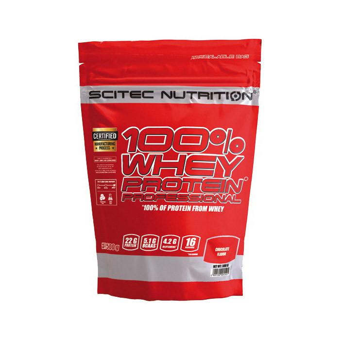 Сывороточный протеин концентрат Scitec Nutrition 100% Whey Protein Professional (500 г) скайтек вей banana