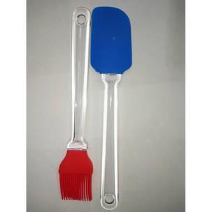 Кисть і силіконова лопатка арт. YL-031, фото 2