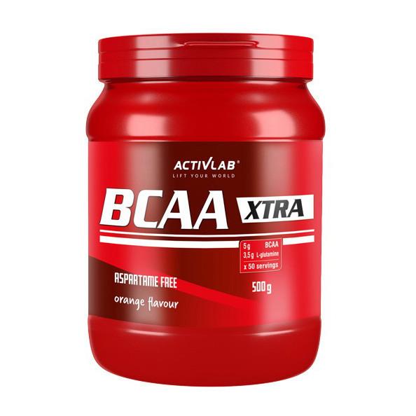 БЦАА Activlab BCAA Xtra (500 г) активлаб экстра lemon
