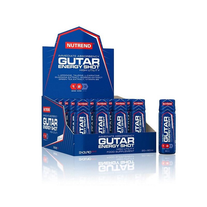 Энергетик Nutrend Gutar Energy Shot (20х60 мл) нутренд