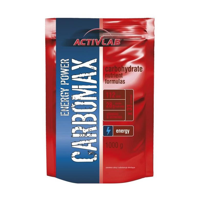 Энергетик карбо углеводы Activlab Carbomax energy power (1 кг) активлаб strawberry