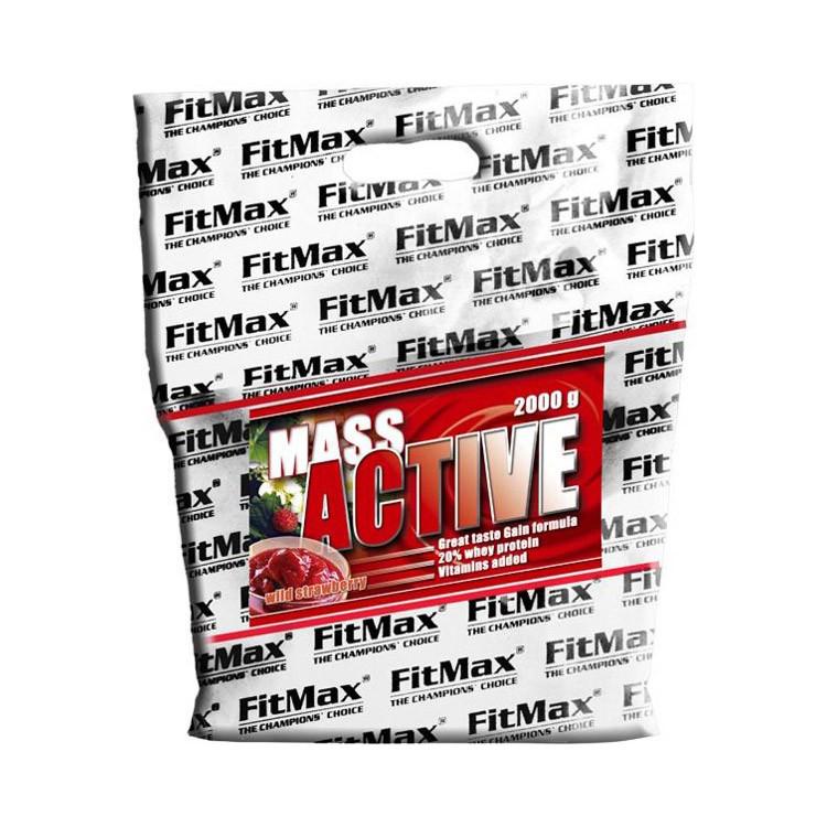Гейнер для набора массы FitMax Mass Active  (2 кг) фитмакс масс актив white chocolate