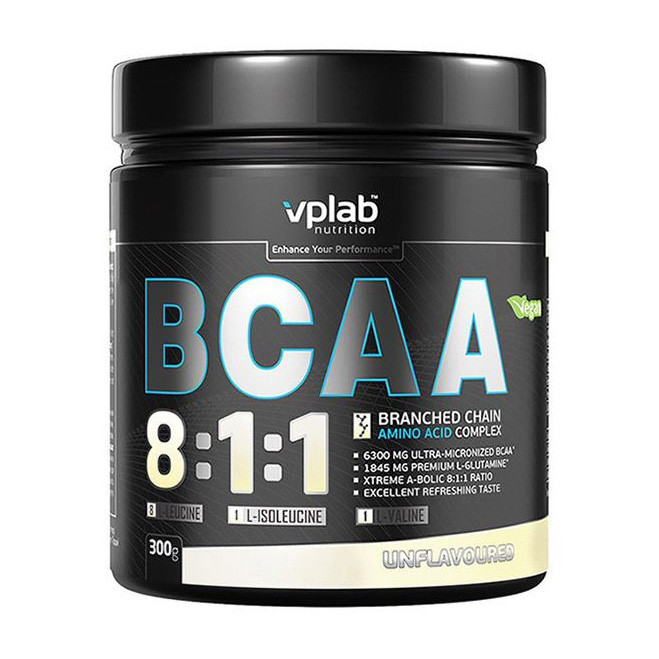 БЦАА VP Lab BCAA 8:1:1 (300 г) вп лаб unflavoured